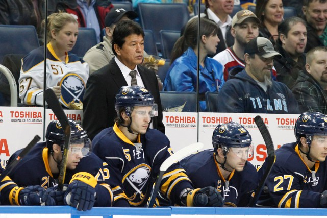 Ted Nolan et les Sabres de Buffalo n'ont... (Photo Kevin Hoffman, archives USA Today Sports)