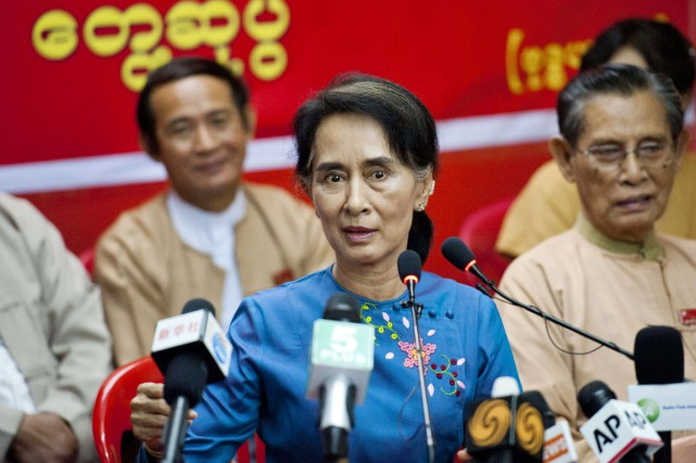 «Nous pensons qu'il y a eu des moments... (PHOTO YE AUNG THU, AFP)