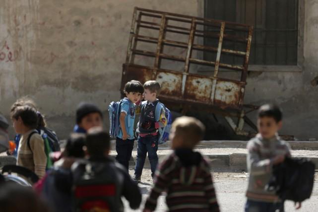 Des militants anti-régime ont accusé les troupes du... (PHOTO BASSAM KHABIEH, ARCHIVES REUTERS)