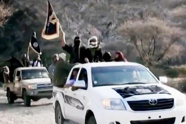 AQPA est considéré par les États-Unis comme la... (IMAGE ARCHIVES AFP/AL-MALAHEM MEDIA)