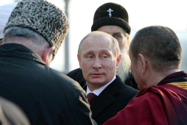 Vladimir Poutine... (PHOTO VASILY MAXIMOV, AFP)
