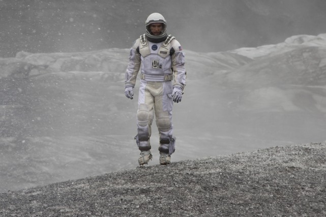 Matthew McConaughey dans Interstellar.... (Photo: fournie par Paramount Pictures)