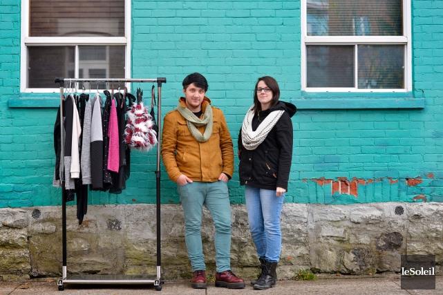 Deux jeunes designers organisent l'evenement La Boite a... (Le Soleil, Yan Doublet)