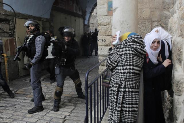 L'esplanade des mosquées de Jérusalem est un site... (Photo: Reuters)