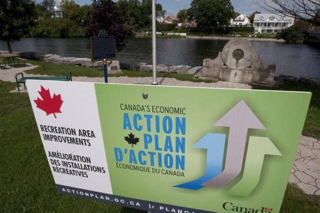Le précédent gouvernement conservateur a investi d'importantes sommes pour la... (PHOTO ARCHIVES LA PRESSE CANADIENNE)