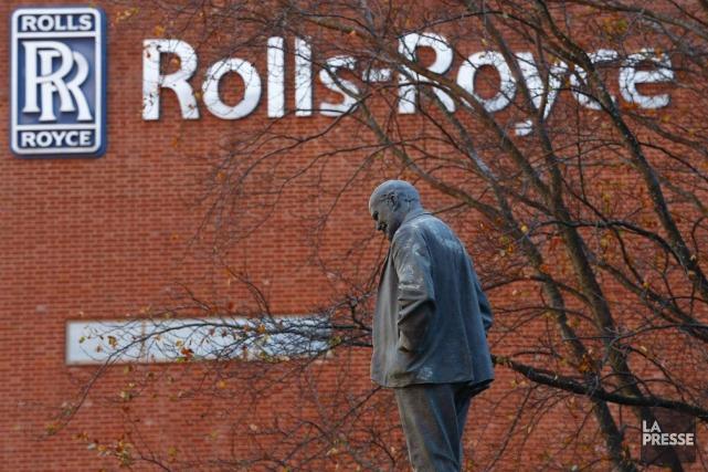 Rolls Royceemploie 55 000 personnes dans 45 pays... (PHOTO DARREN STAPLES, REUTERS)