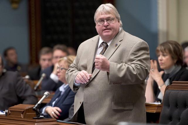 Le ministre de la Santé Gaétan Barrette... (Photothèque La Presse Canadienne, Jacques Boissinot)