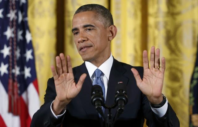 Le président américain Barack Obama risque de voir... (Photo Larry Downing, Reuters)