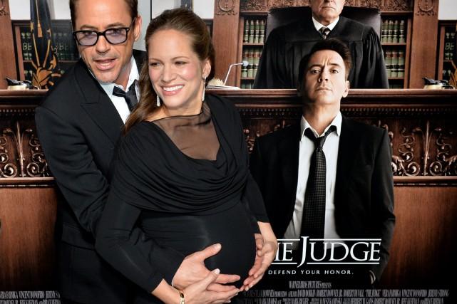 Robert Downey Jr. est désormais père de trois... (Photo MARK RALSTON, Archives AFP)