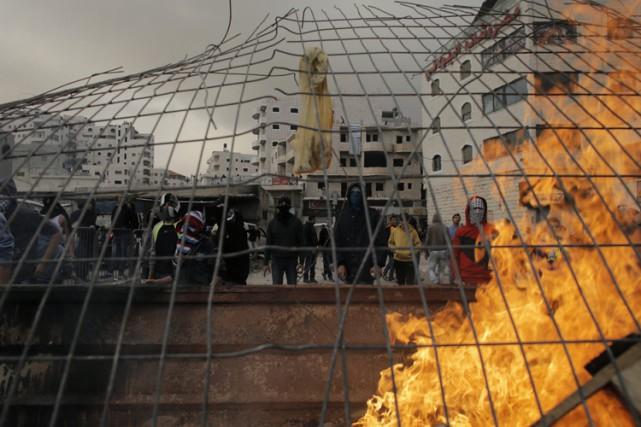 Jérusalem a connu mercredi une de ses pires... (Photo: Reuters)