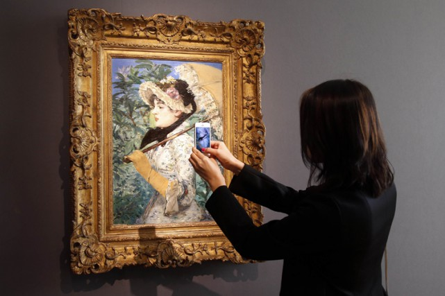 Le Printemps d'Edouard Manet.... (Photo: Reuters)
