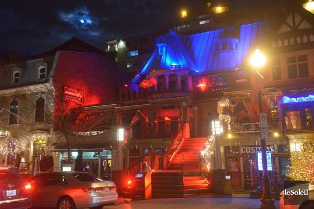 Le bâtiment du Complexe Maurice Nightclub héberge aussi... (Le Soleil, Jean-Marie Villeneuve)