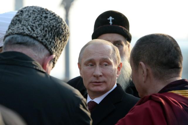 Le président russe Vladimir Poutine... (Photo VASILY MAXIMOV, AFP)