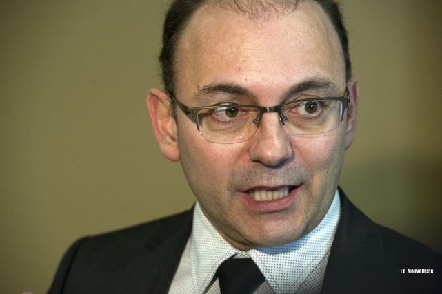 Yvon Boivin, président de la Coalition d'aide aux... (Photo: Stéphane Lessard, Le Nouvelliste)