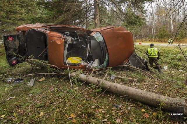 Un autre véhicule est impliqué dans la trame factuelle qui a mené à l'accident... (Imacom, Jocelyn Riendeau)