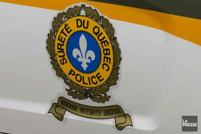 Pour le moment, la Sûreté du Québec ignore... (PHOTOTHÈQUE LA PRESSE)