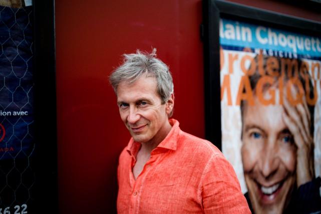 Alain Choquette a donné 200 représentations dans leThéâtre... (Photo fournie par Lionel CHARRIER, MYOP)