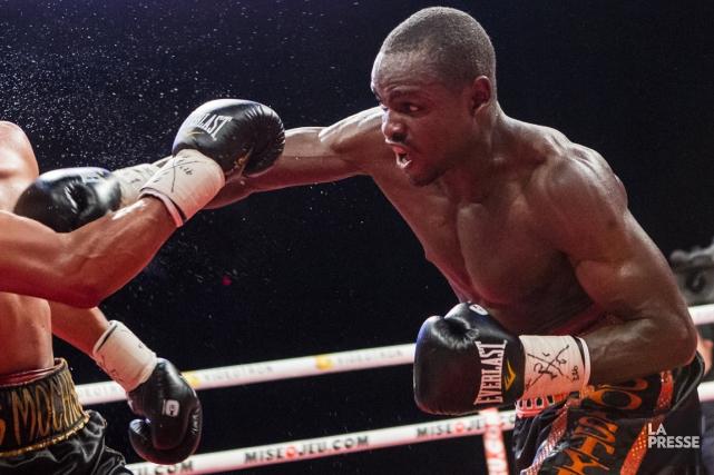 Le boxeur montréalais Dierry Jean a décidé de... (Photo Edouard Plante-Fréchette, La Presse)