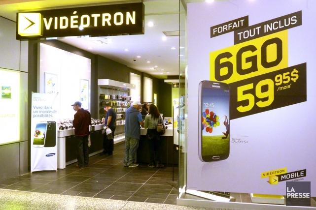 Vidéotron croit que son réseau mobile LTE, ainsi... (PHOTO BERNARD BRAULT, ARCHIVES LA PRESSE)