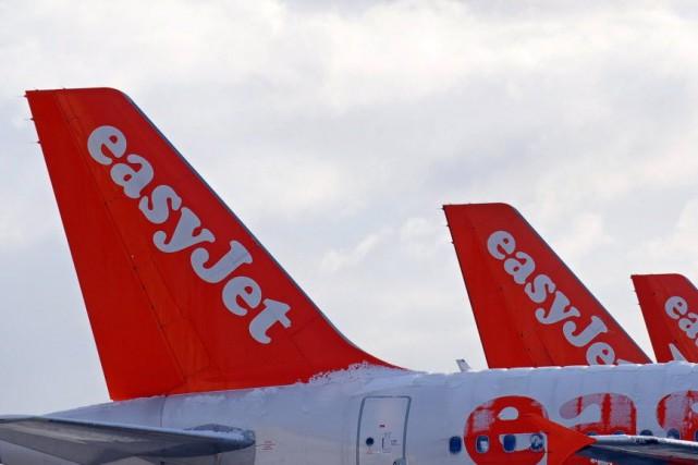 EasyJet est la deuxième compagnie aérienne en France... (Photo PAUL ELLIS, AFP)