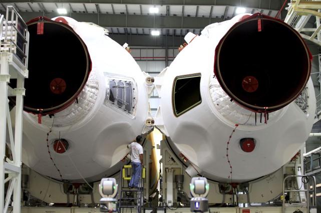 Le lancement est prévu à bord d'une fusée... (PHOTO REUTERS/NASA)