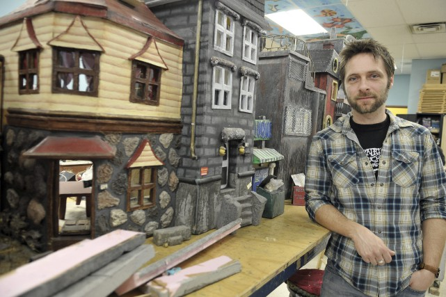 Le cinéaste Patrick Bouchard affirme que le décor... ((Photo Rocket Lavoie))