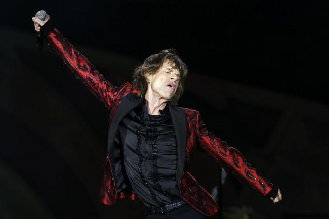 Les Rolling Stones ont annulé une date de leur tournée australienne, car leur... (Photo JUAN MEDINA, Reuters)