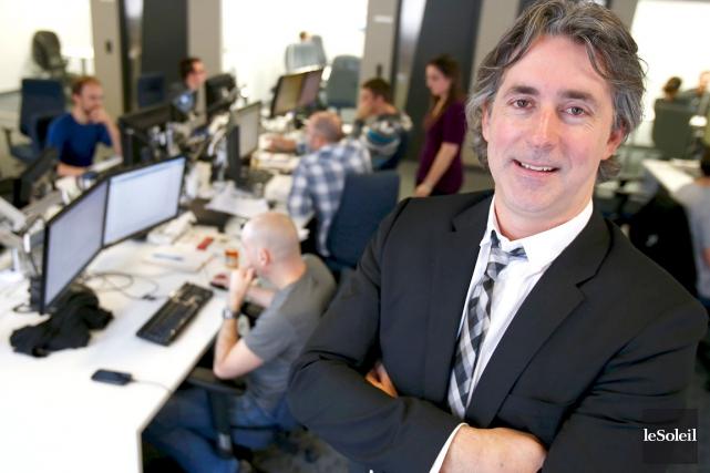 Sébastien Vachon dirige Korem, une firme spécialisée dans... (Photothèque Le Soleil, Yan Doublet)