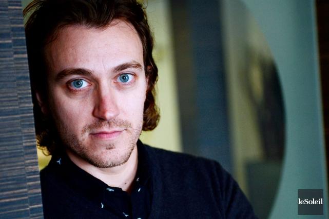 Le comédien Benoît McGinnis... (Le Soleil, Erick Labbé)