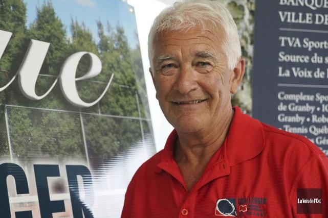 Président et directeur général du Challenger, Alain Faucher... (photo archives La Voix de l'Est)