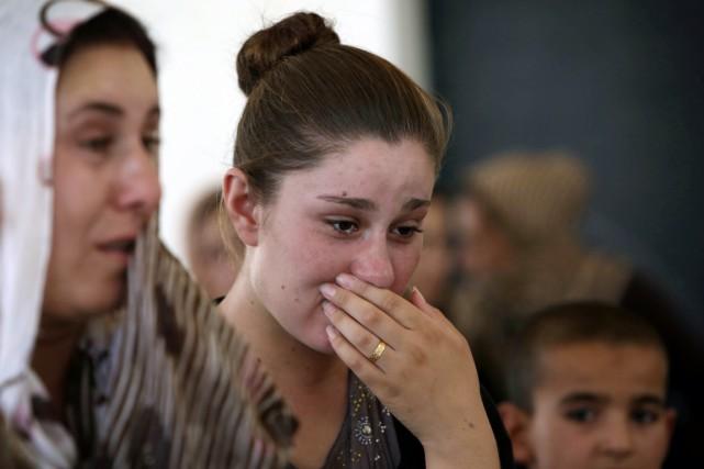 Des milliers de Yézidis ont été kidnappées par... (PHOTO SAFIN HAMED, ARCHIVES AFP)
