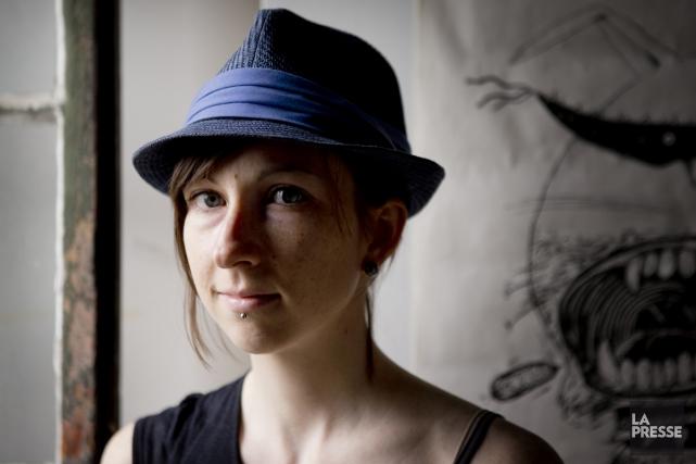 La bédéiste montréalaise Julie Rocheleau.... (Photo: Marco Campanozzi, La Presse)