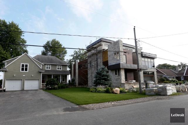 Le terrain de la demeure a été évalué... (Archives, LeDroit)