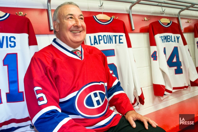 Le Canadien retirera le chandail numéro 5 de... (Photo Hugo-Sébastien Aubert, La Presse)