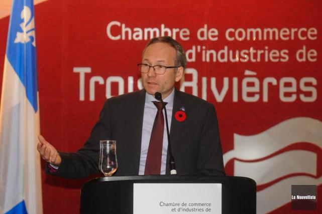 Le président du Conseil du trésor, Martin Coiteux.... (Photo: François Gervais, Le Nouvelliste)
