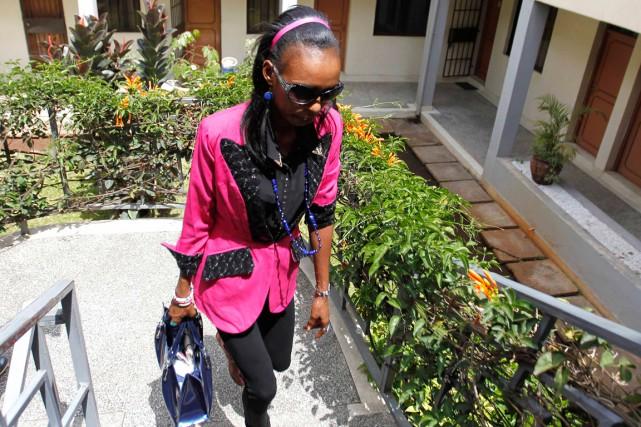 La marathonienne kényane Rita Jeptoo a été contrôlée... (Photo Thomas Mukoya, archives Reuters)