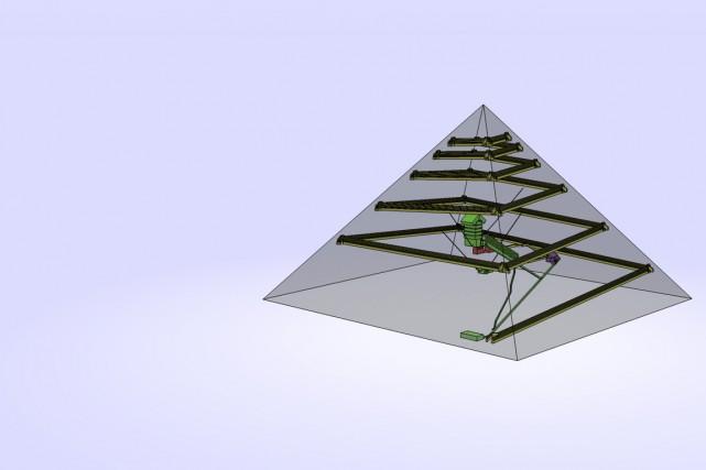 Ing nieurs regard qu b cois sur la grande pyramide marc for Architecte de pyramide