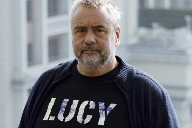 Luc Besson, réalisateur de Lucy.... (Photo: AFP)