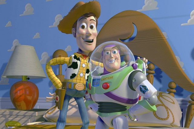 Woody et Buzz Lightyear de Toy Story.... (Photo: fournie par Disney)