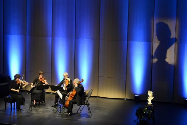 L'ombre de Beethoven planait sur le Quatuor Alcan,... ((Photo Jeannot Lévesque))