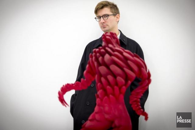 L'artiste Jon Rafman... (Photo: Alain Roberge, La Presse)