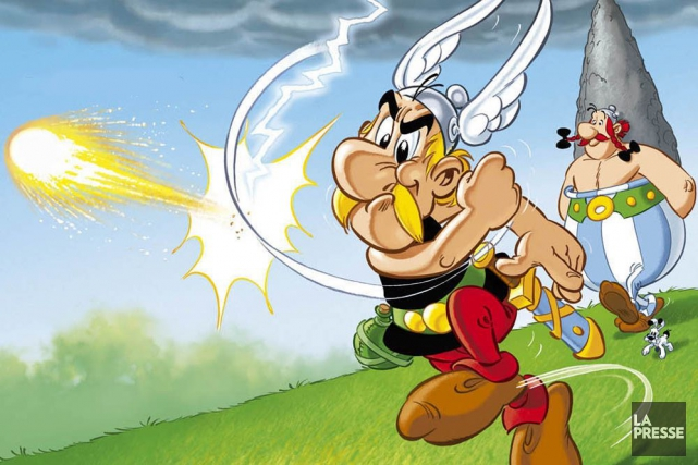 Astérix... (Photo archives La Presse)
