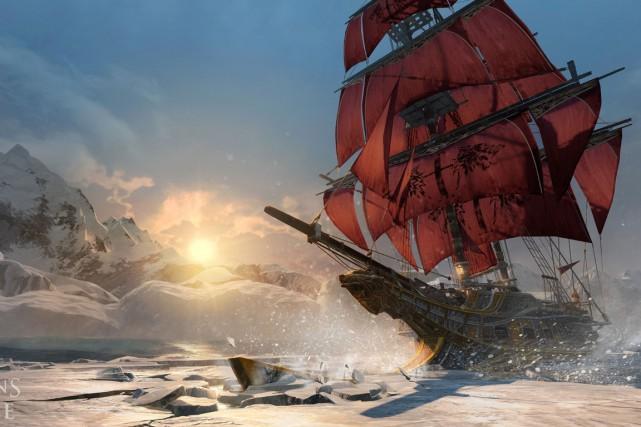 Dans Rogue, il y aura des combats navals,...