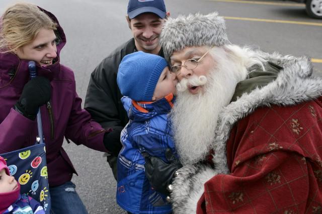 Nicolas Noël a fait une belle rencontre à... ((Photo Jeannot Lévesque))