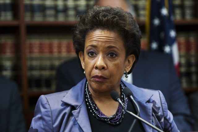 Loretta Lynch... (PHOTO LUCAS JACKSON, REUTERS)