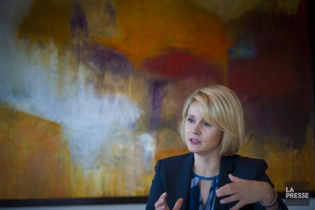 Geneviève Biron est devenue présidente et chef de... (PHOTO ANDRÉ PICHETTE, LA PRESSE)