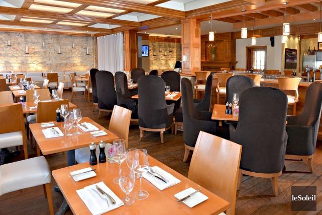 Le MC Lounge fait partie des trois restaurants... (Le Soleil, Patrice Laroche)