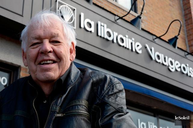 Denis Vaugeois, récipiendaire du prix Georges-Émile-Lapalme pour sa... (Le Soleil, Erick Labbé)