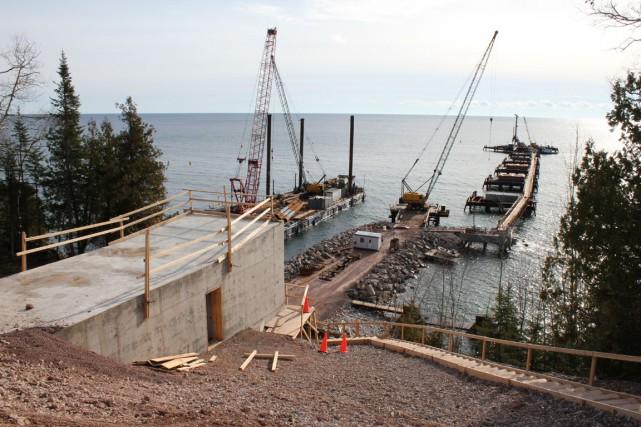 Le sous-traitant de Ciment McInnis, Construction Hamel, doit... (Collaboration spéciale Gilles Gagné)