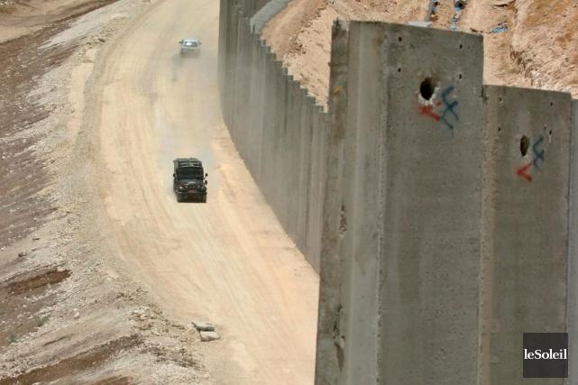 LaBarrière de séparation israélienne enCisjordanie... (Photothèque Le Soleil)